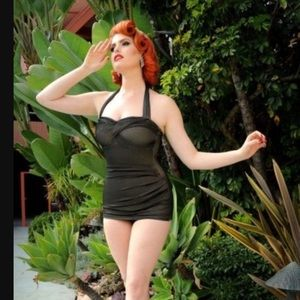 Dixiefried PInup Couture L one piece swimsuit